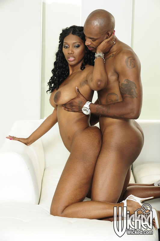 hot black Ebony fucking