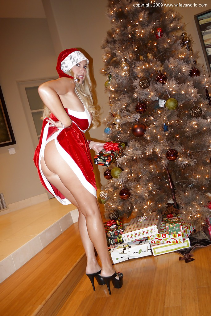 Wifes in sexy santa