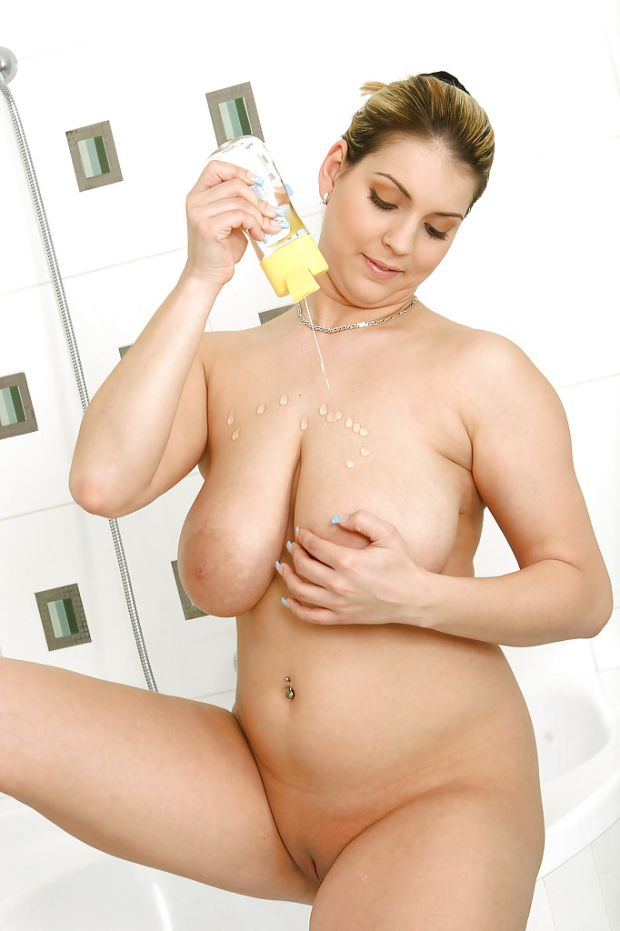 Teen Riding Dildo Shower