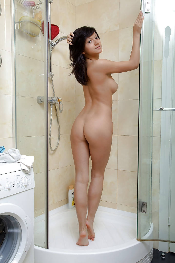 Agree, rather Dildo babe in shower think, that