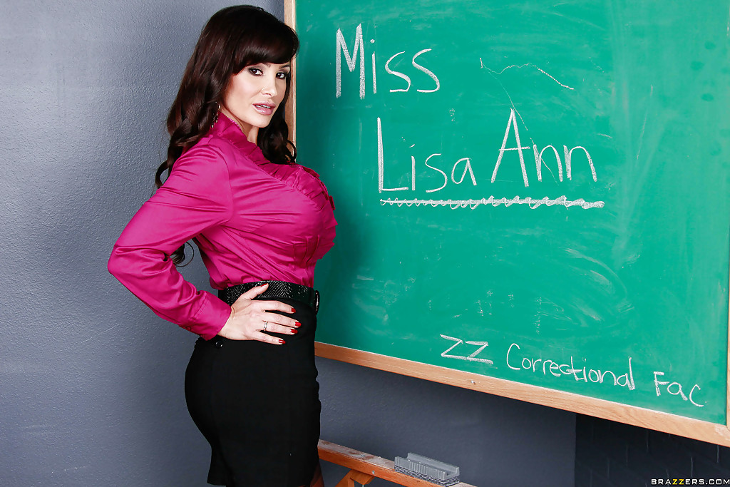Hot big tit lisa ann teacher