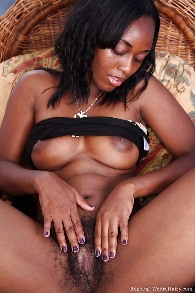 Very talented Ebony stripper naked self shot