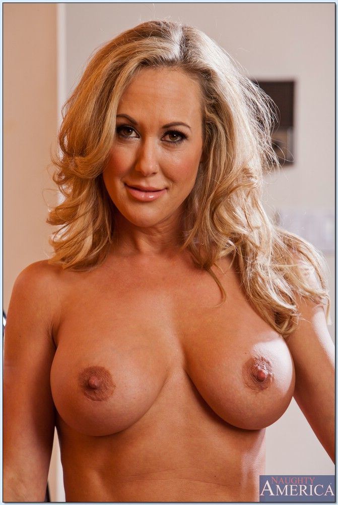 The tits of a sexy milf