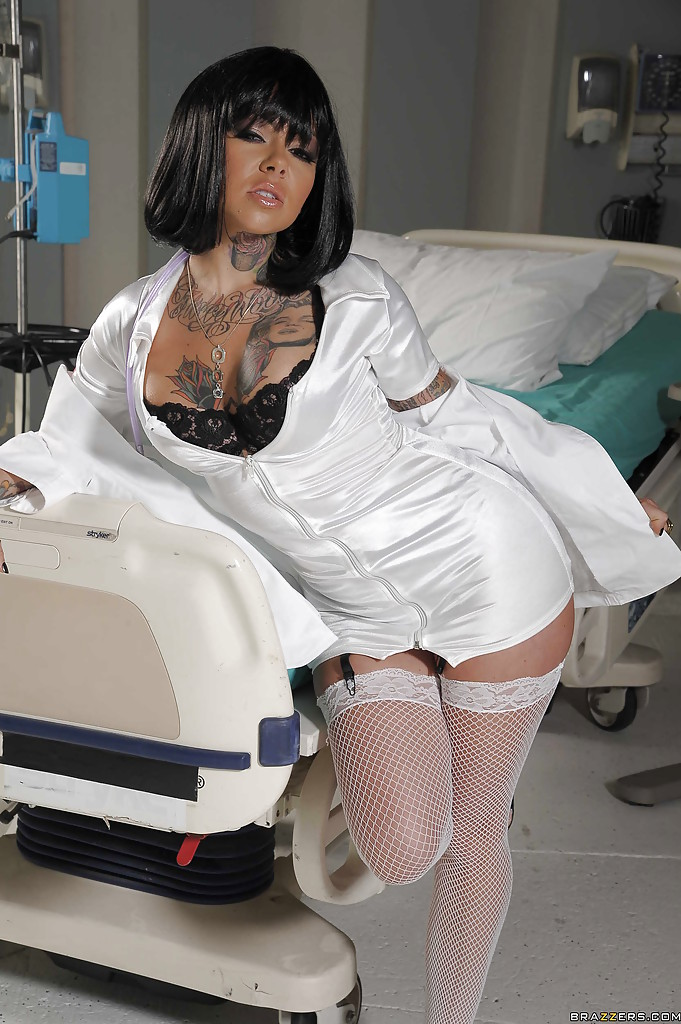 Nurse dress latex