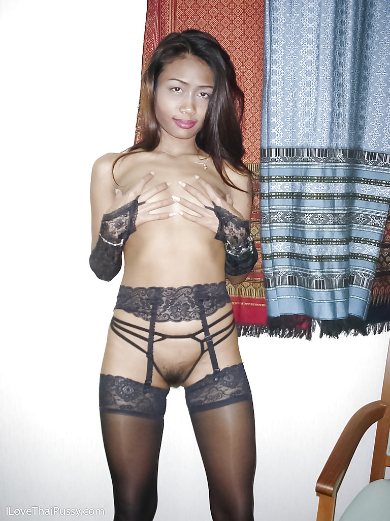 Thai Girl With Pantyhose