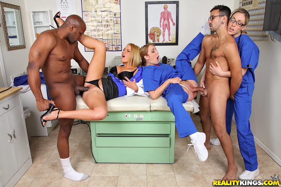 Sexy Doctor Fucks Patient