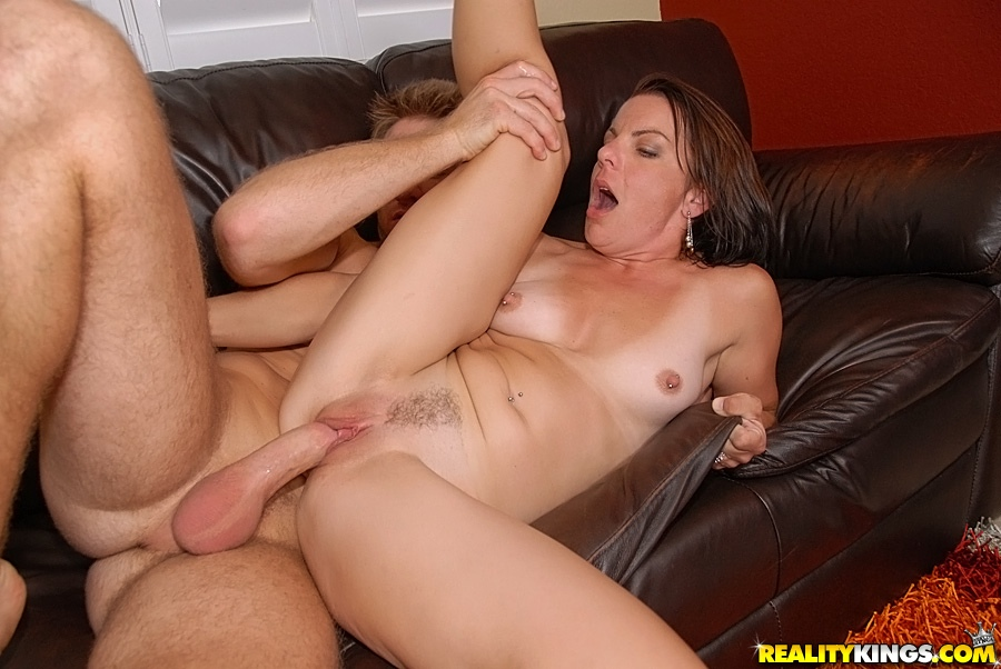 Milf Showing Hairy Pussy