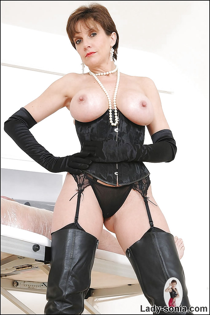 Mistress lady sonia bondage and teased to orgasms 1