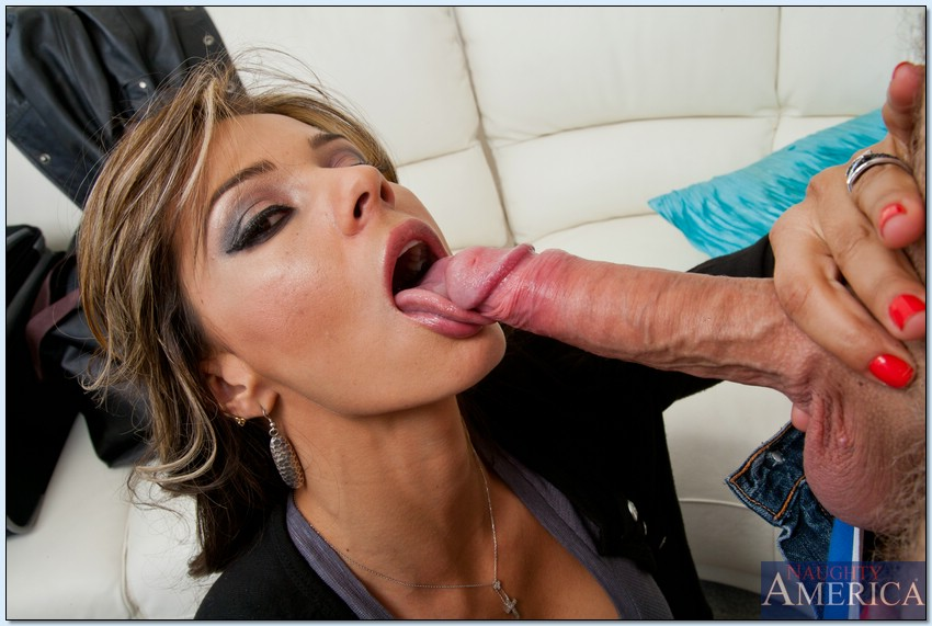 Friends mom gives blowjob