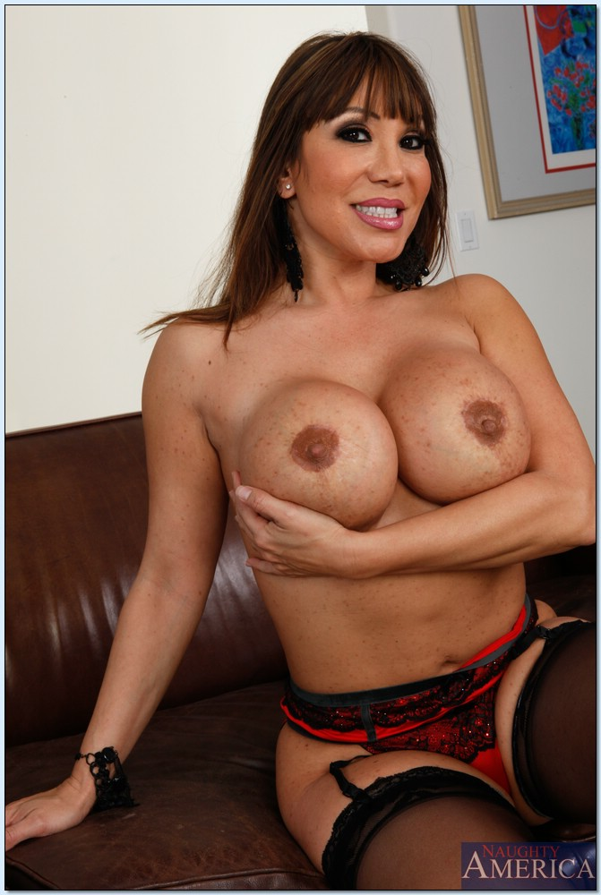 Big breast asian milf