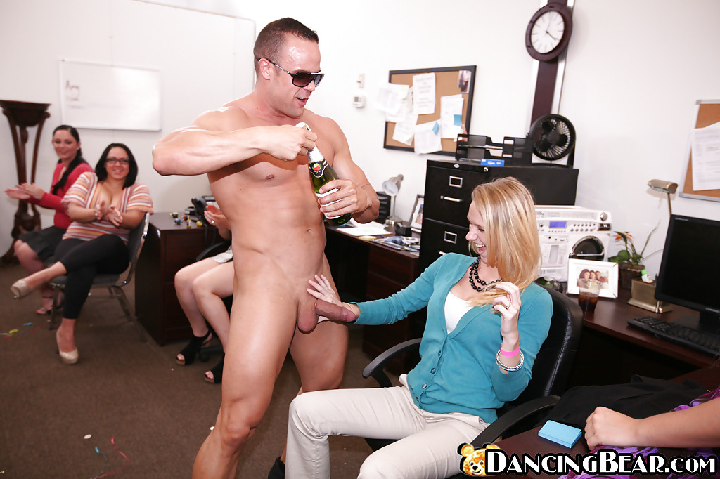 Cock sucking office