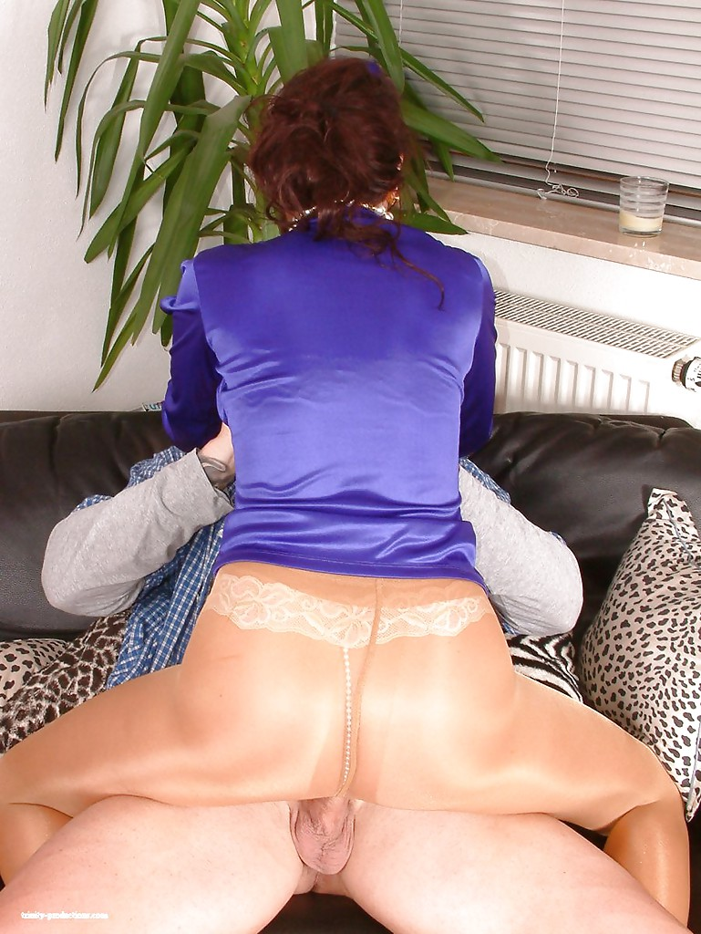 Silk panties milf