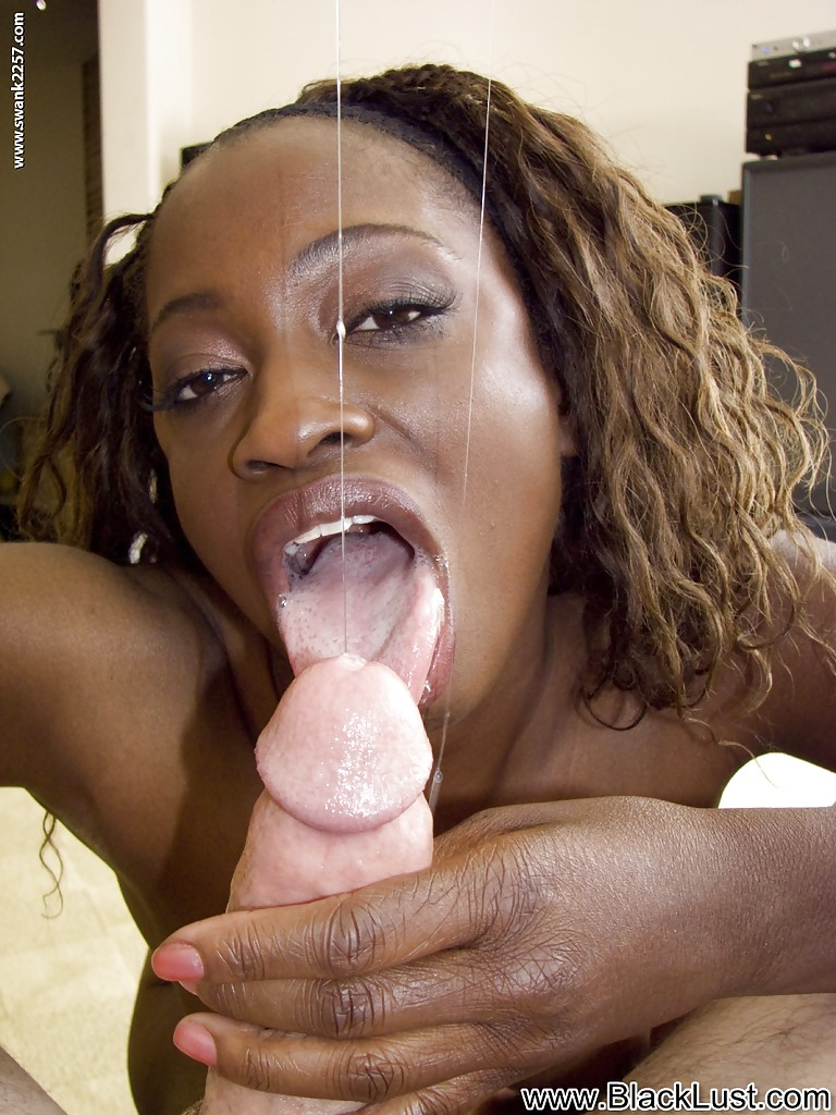 Ebony Bbw Cumshot Facial