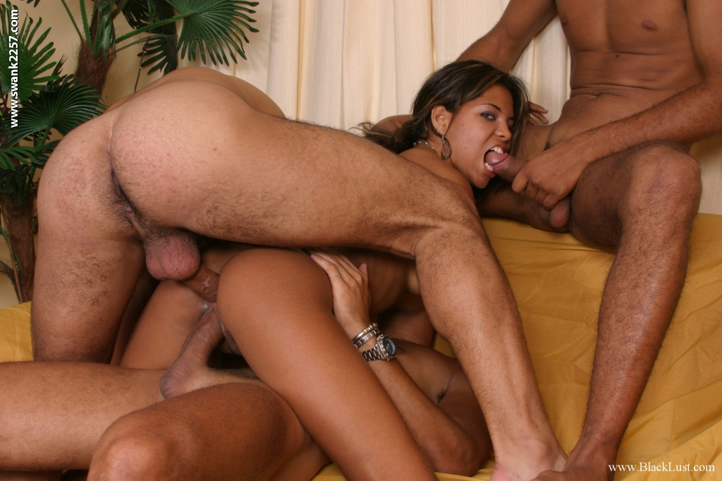 black foursome