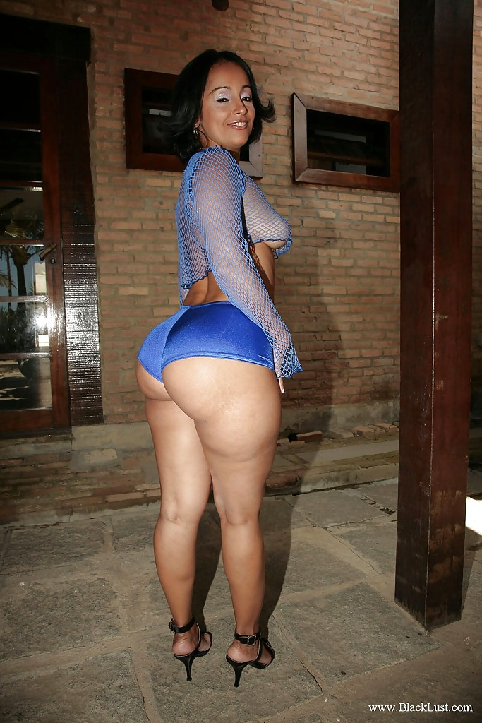 Thick ass ebony milf