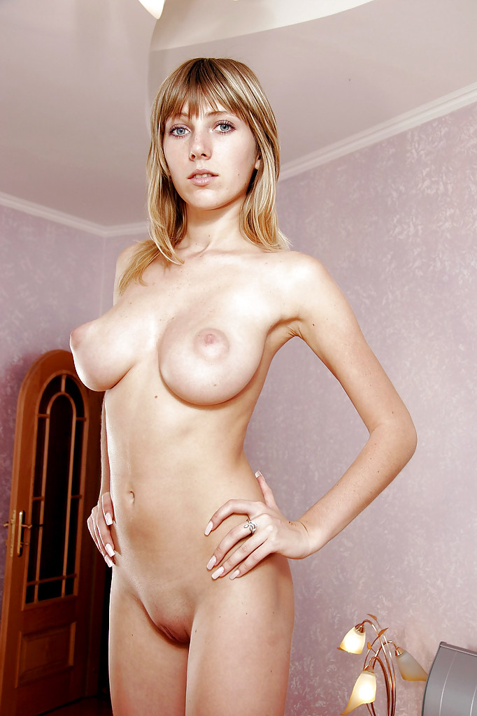 petite blonde females nude with large boobs