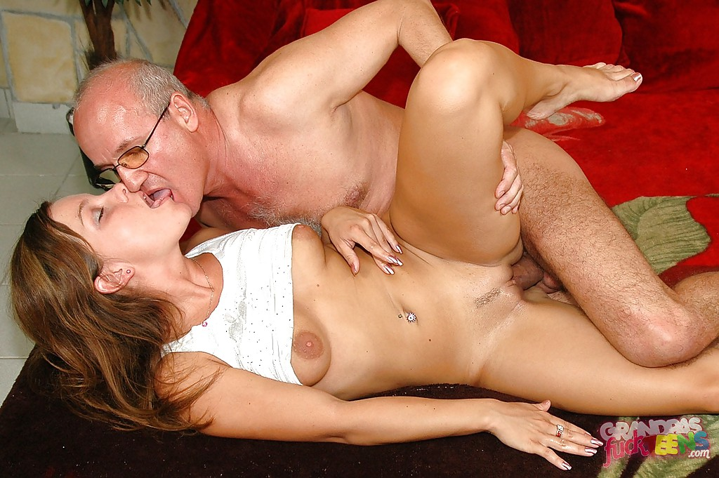 Nasty Old Man Fucks Teen