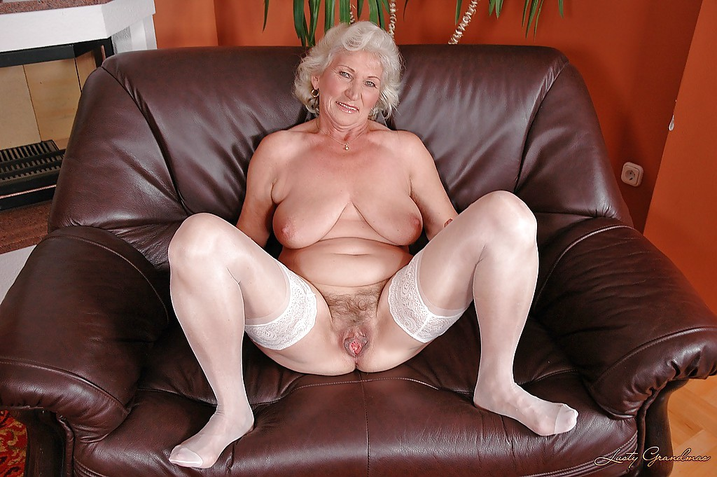 Grannies wearing nylons