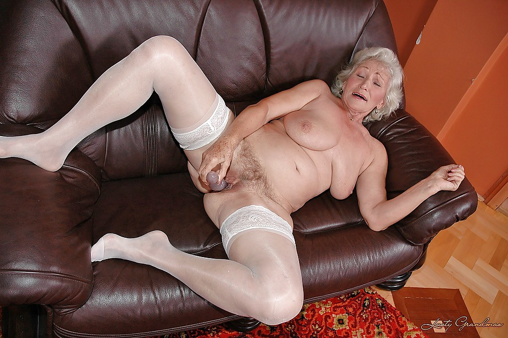 Grannies squirting anal nylon