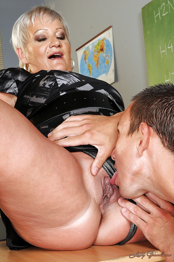 adult granny sex with student