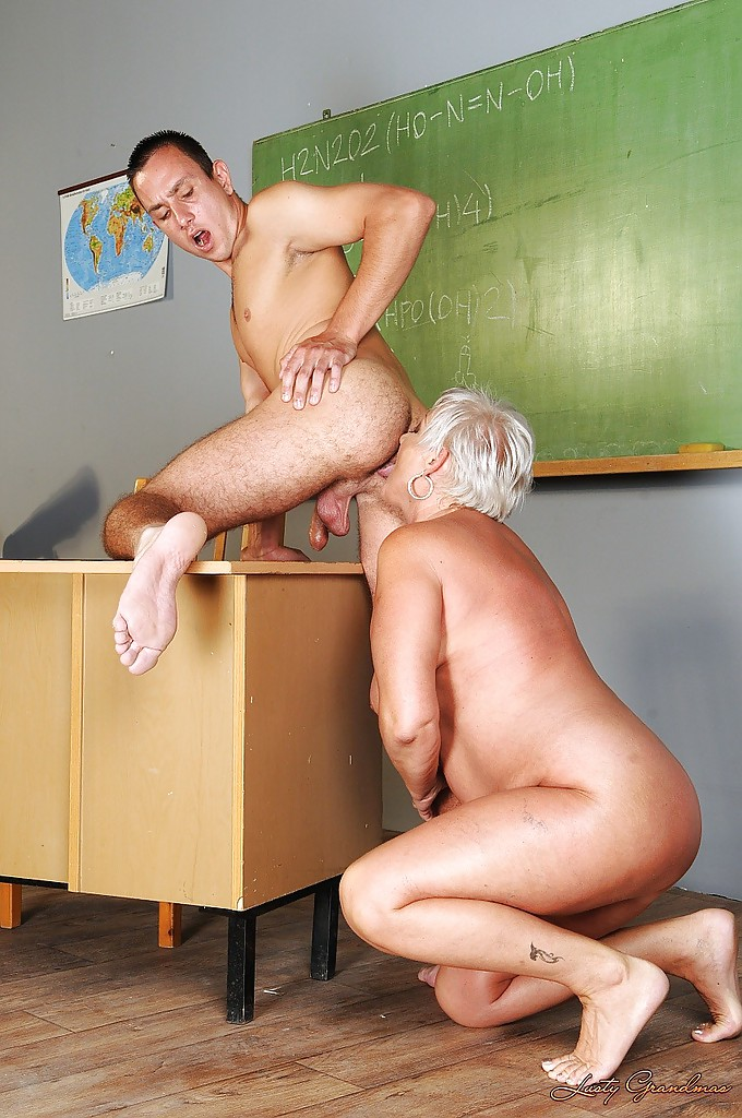 Horny Teacher Gets Banged By Student
