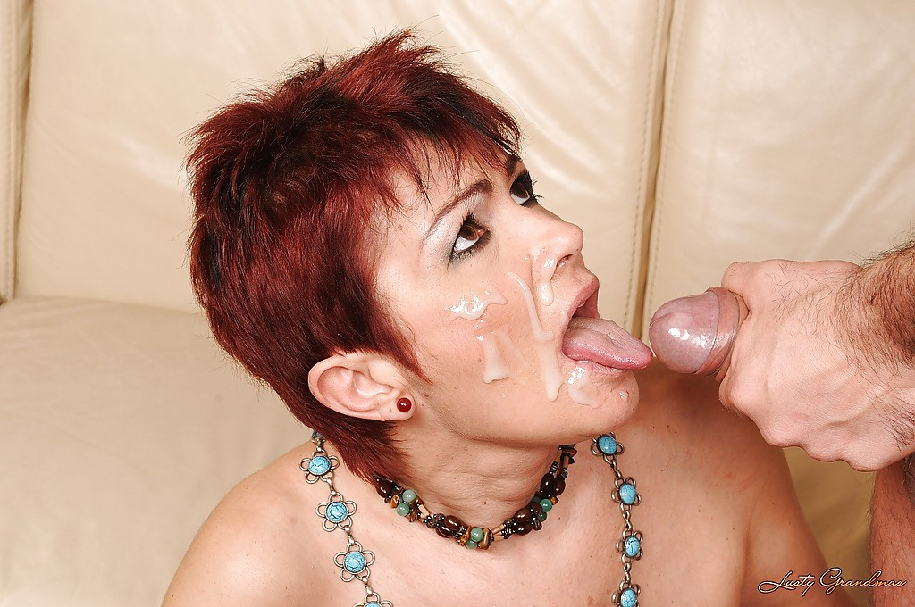 Realize, Short haired babe sucking matchless
