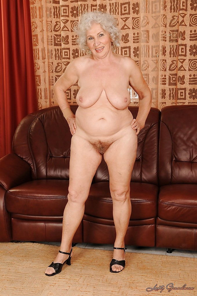 Lusty grandmas natural tits