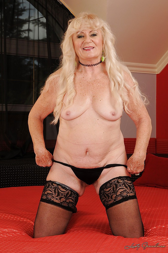 Blonde granny is in urgent need for hard cock - 1 part 10