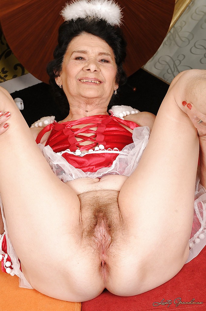 Granny has a big ass