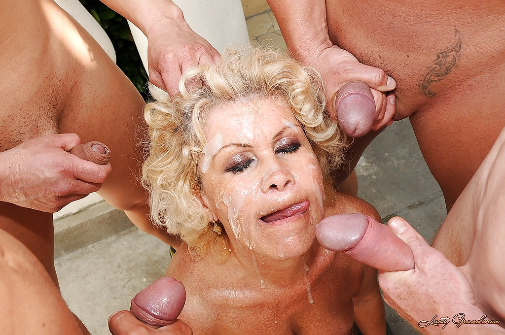 Filthy granny sex