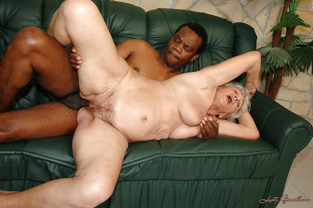 Granny fuck big black dick