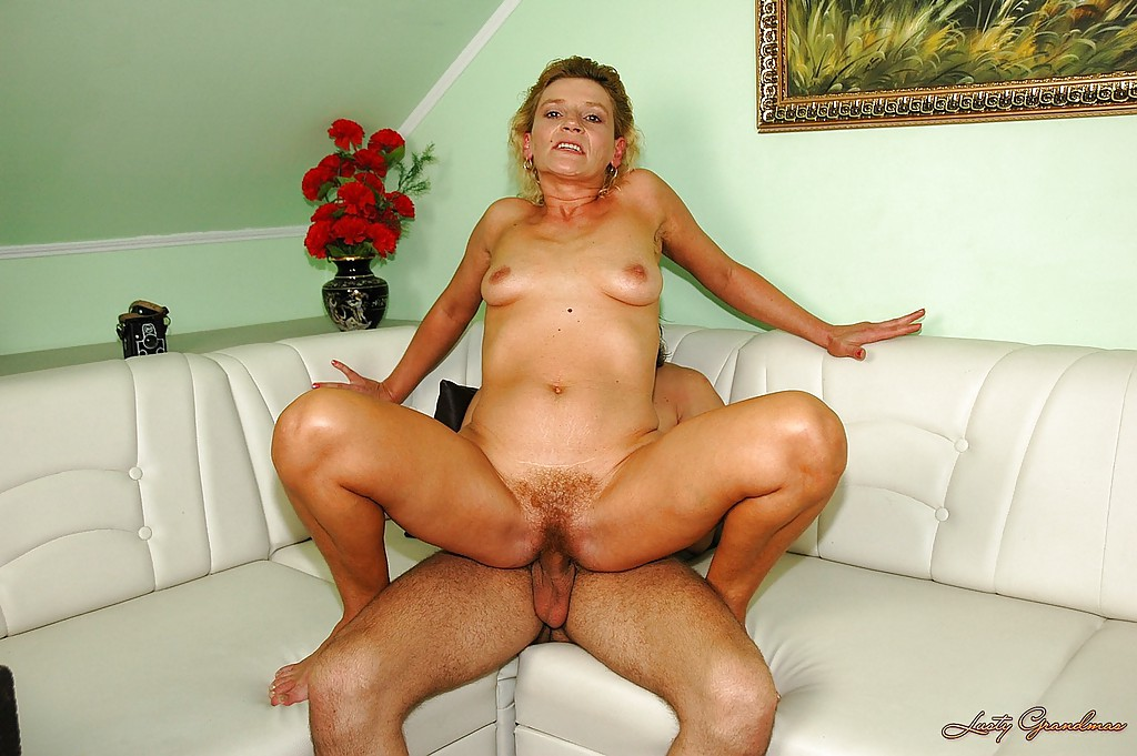 Hairy Mature Blonde Fuck