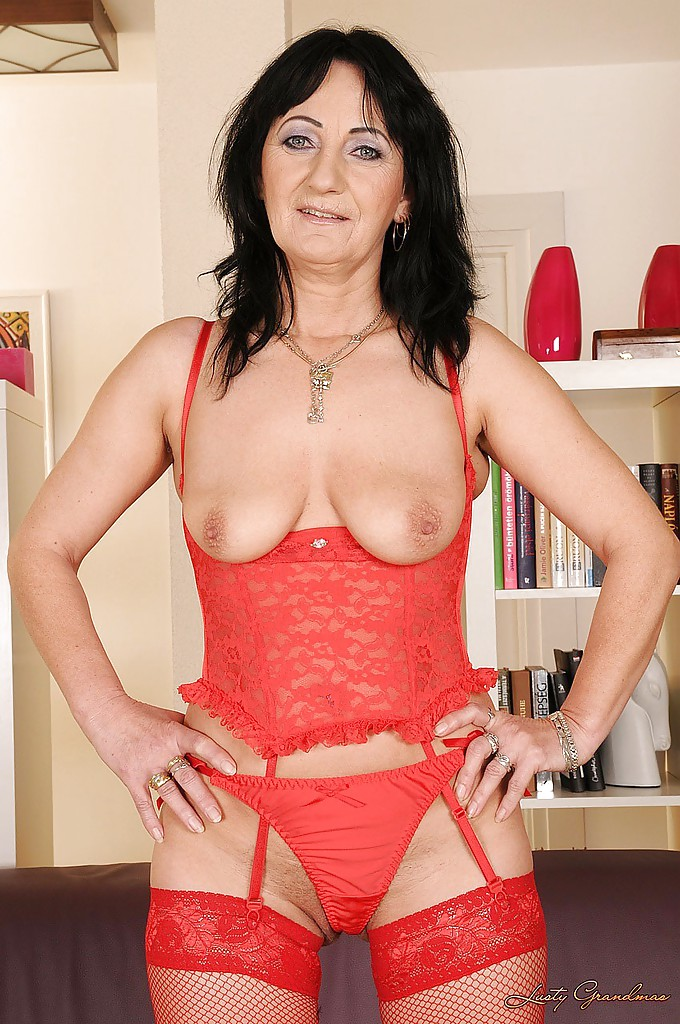massive titted lingerie matures
