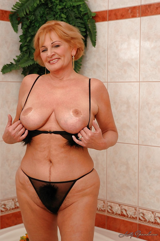 Grandma with big tits 6