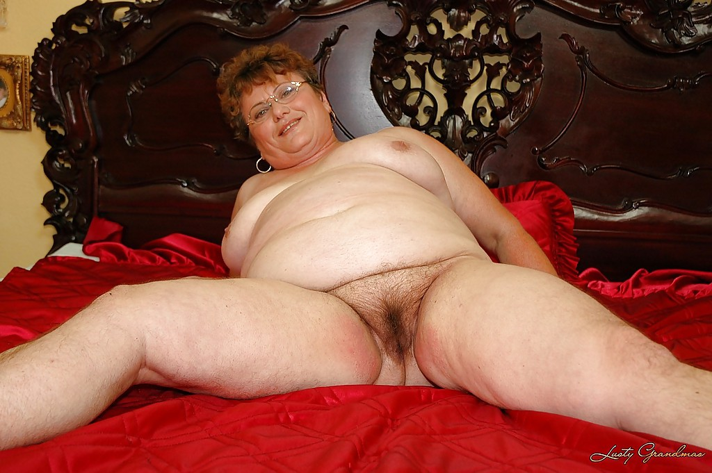 Confirm. Fat granny with glasses