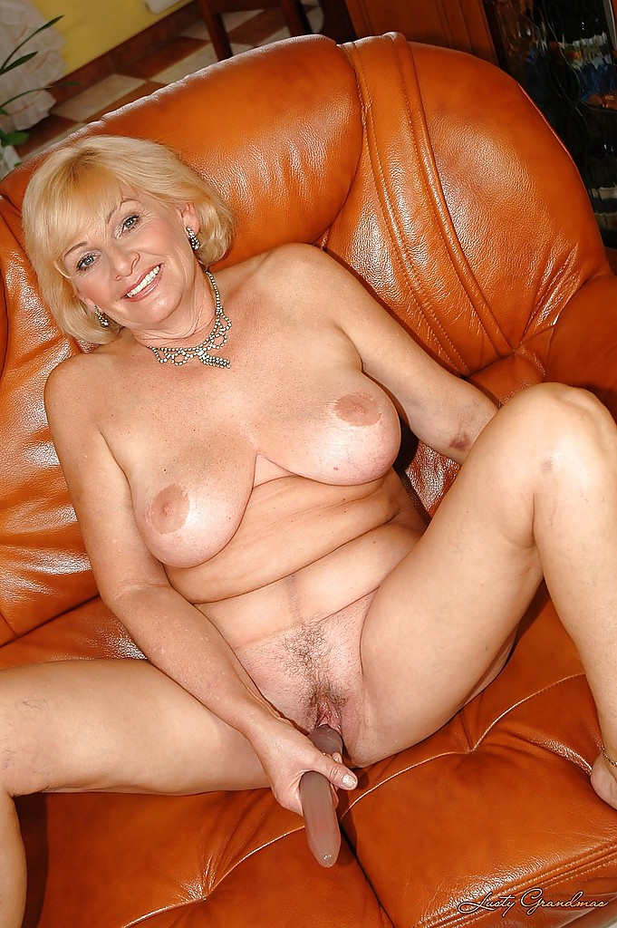 Naked old grandma with dildos agree
