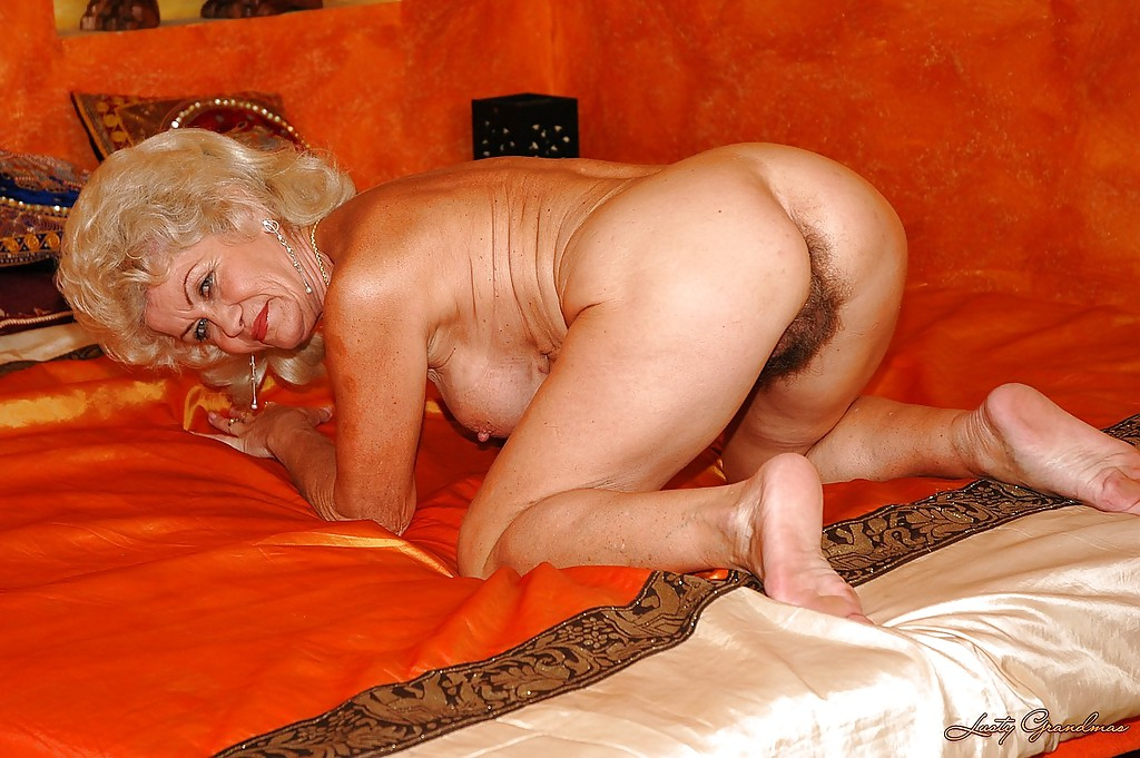 Naked grandmas with hairy pussies