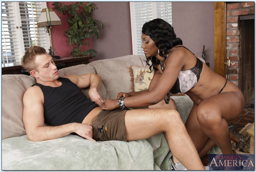 Black Milf Fucks Sons Friend