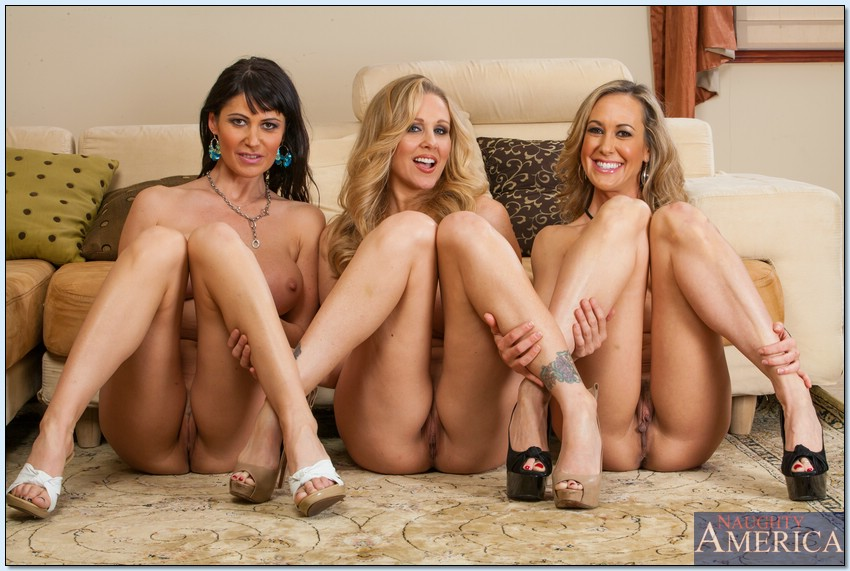 Naked girls strapped to bed