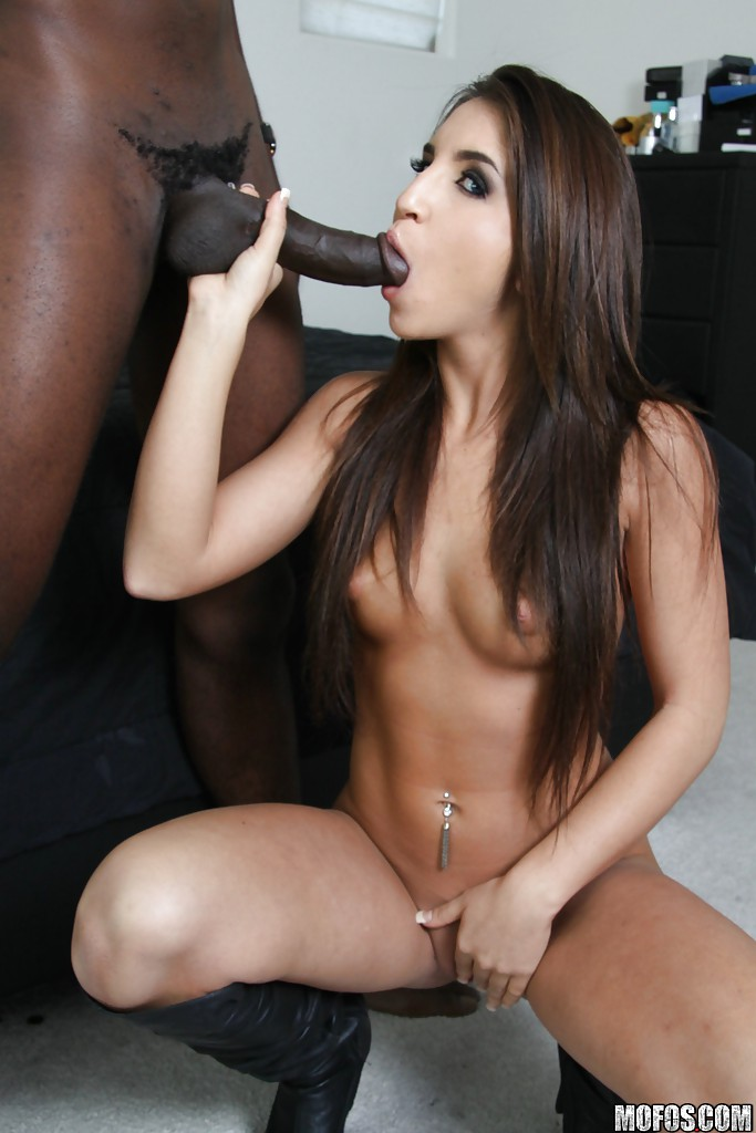 Latina fucking black cock the
