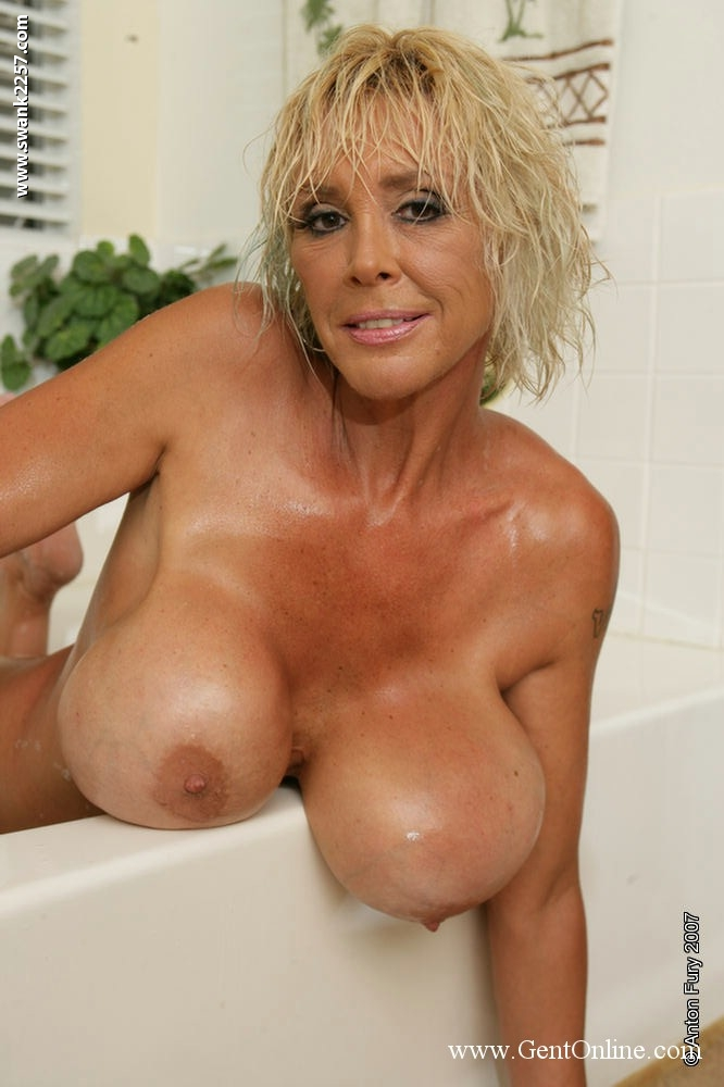 Big tit mature blonde milf think