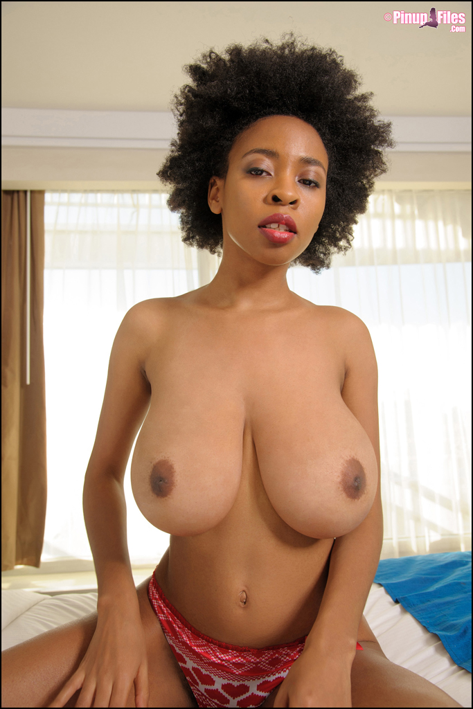 Ebony nude highly sensitive