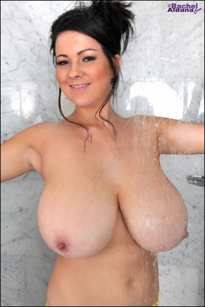 Tits in the shower