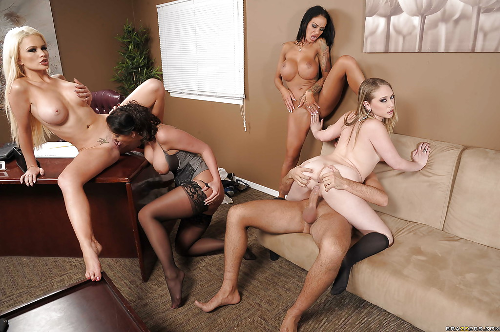 Sexy female orgy
