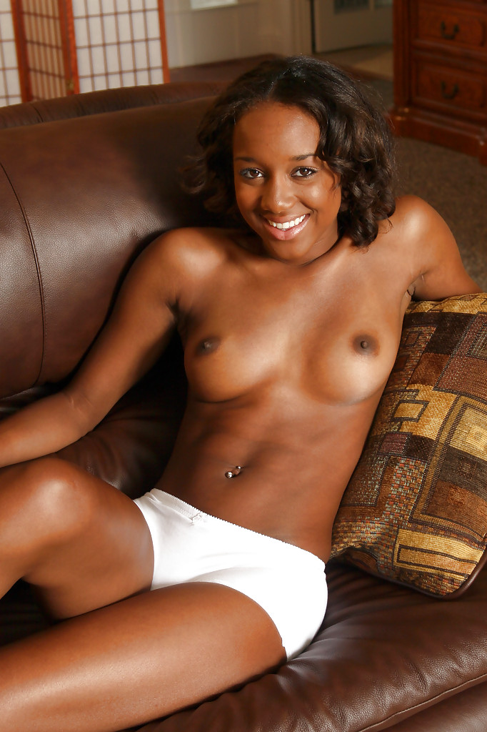 Young nude black girl spreading recommend you