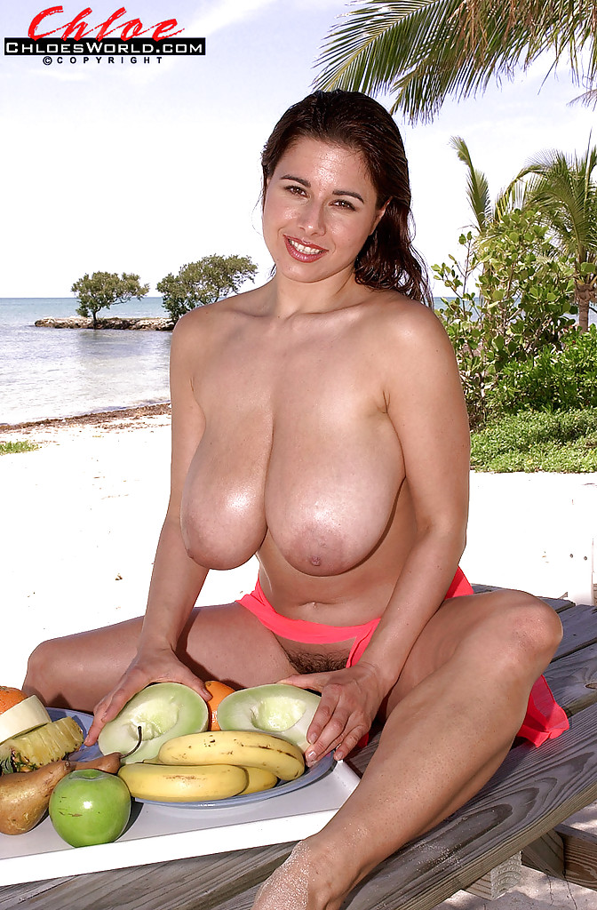 Milf with massive boobs