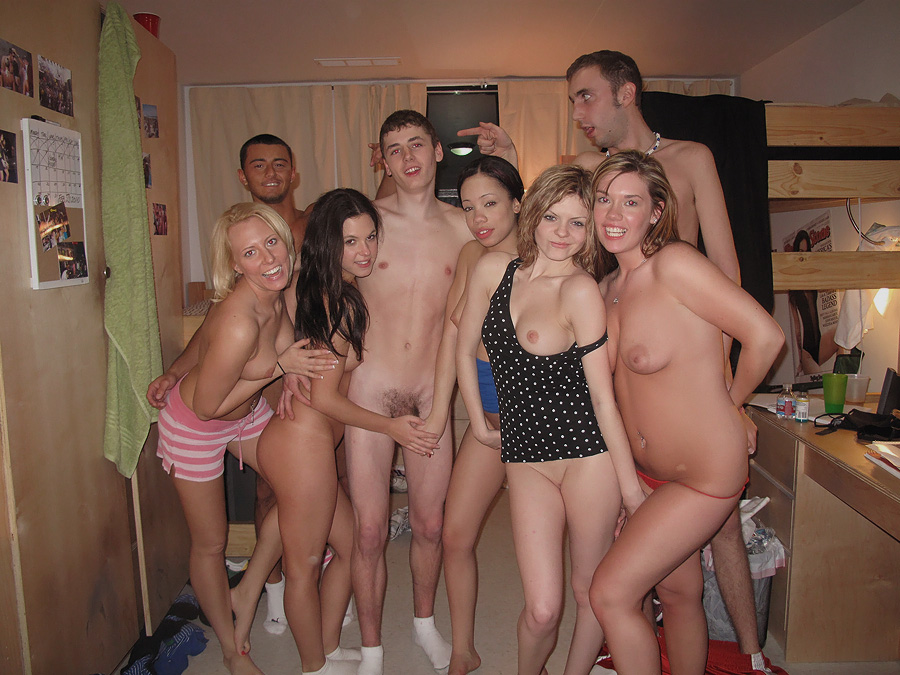 dorm guy naked
