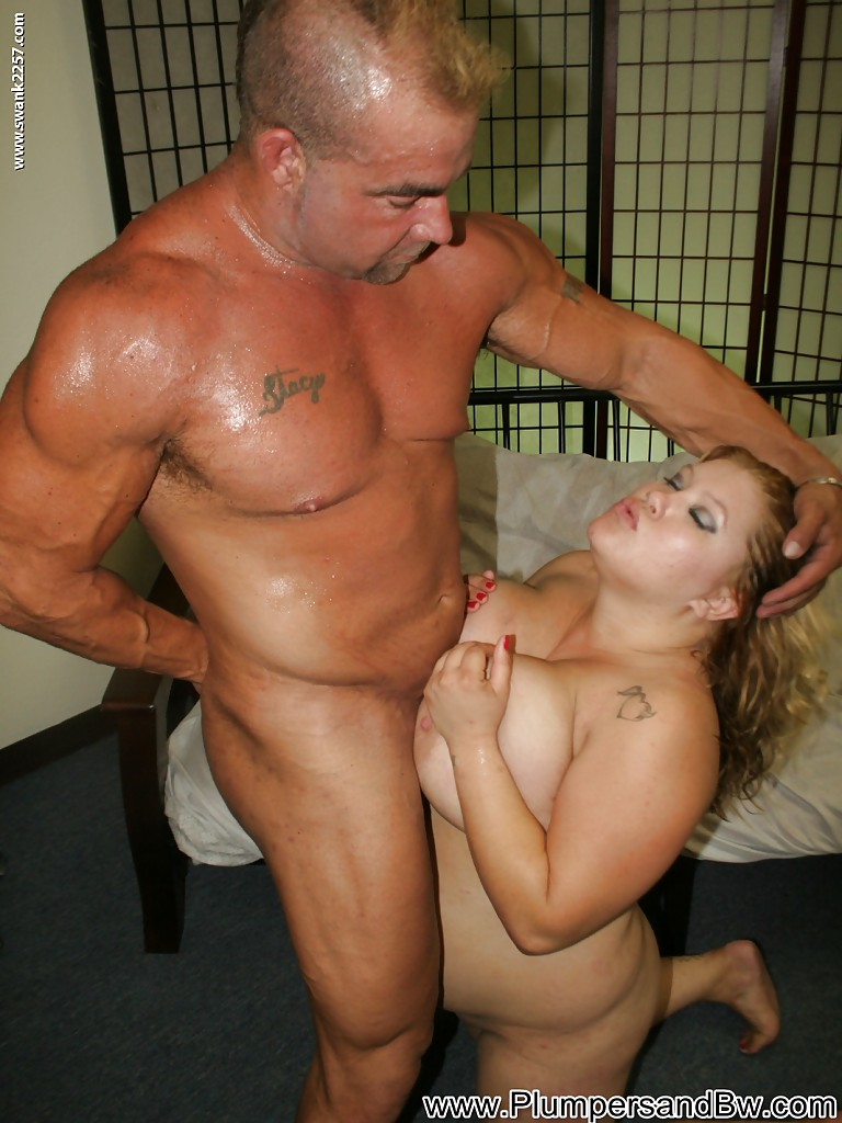 image Horny plumper gets her mouth twat and tight asshole fucked