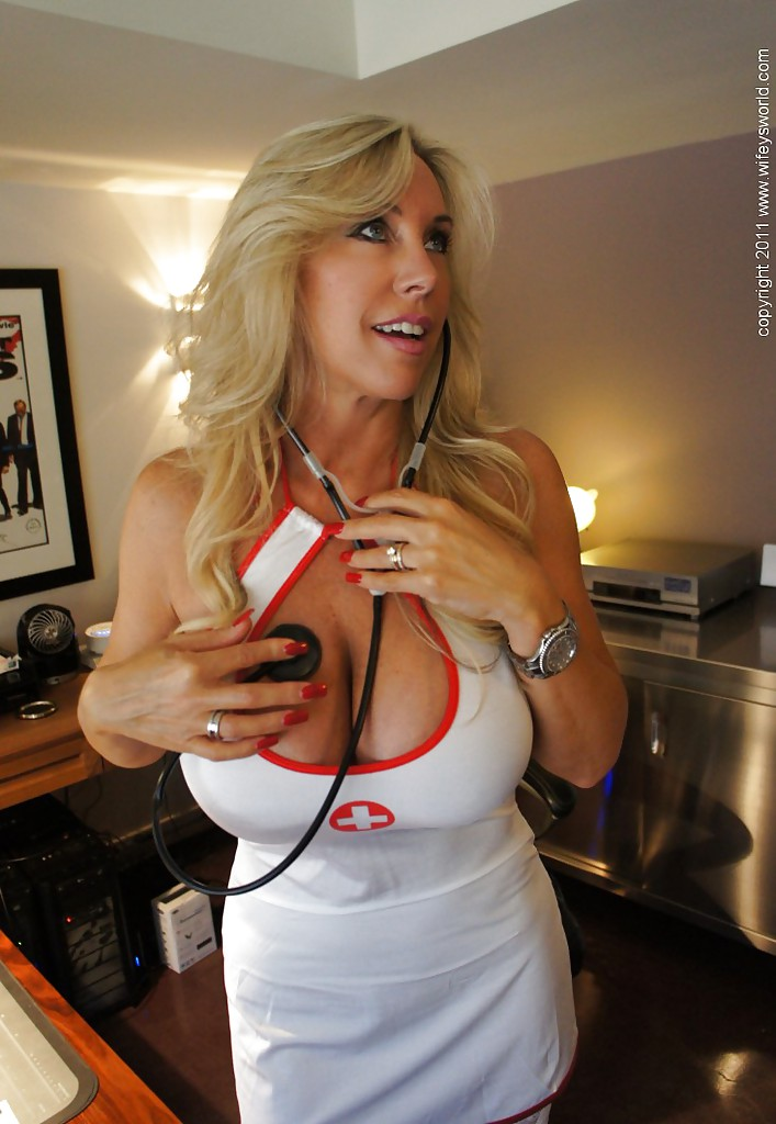 Excited too Nurse mom sex hot think, that