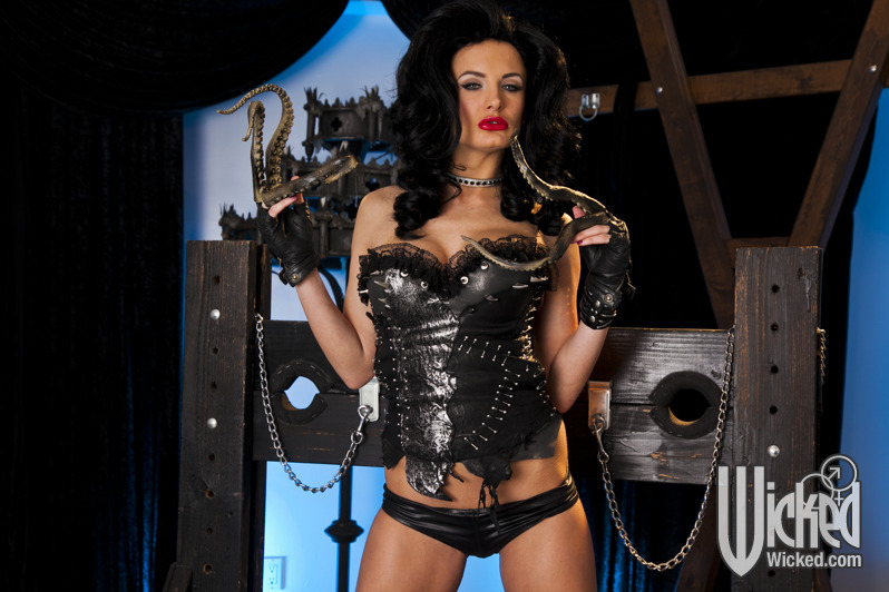 Confirm. Busty brunette stripping latex outfit you